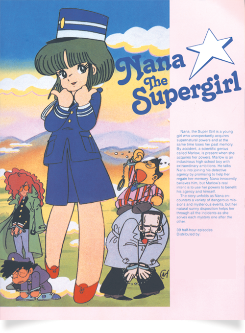 Nana the Supergirl